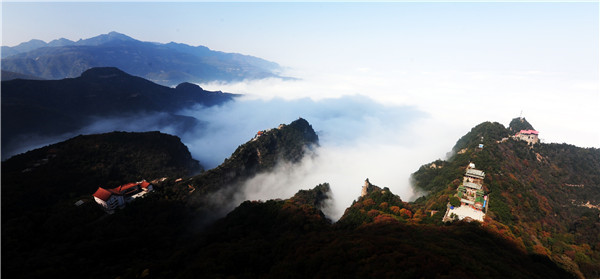 五老峰(国家AAAA级旅游景区)